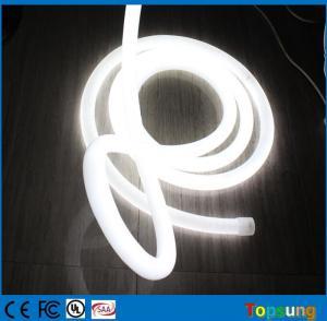 Best top quality white led neon flex light 220v 360 round 100leds/m for building wholesale