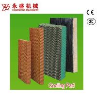 Buy cheap Industry/ Greenhouse/Poutlry Farm Cooling Pad System with Black Single Coated from wholesalers