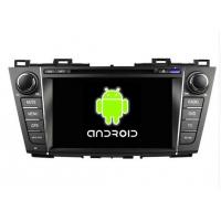 Quality 8 Inch HD 1024 X 600 Pixels Mazda 5 DVD Player In Dash GPS Stereo 2009 - 2012 8GB MAP Card for sale
