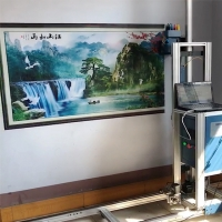 Quality Sophisticated 720X2280DPI 9㎡/h Automatic Wall Inkjet Printer for sale
