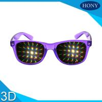 China Wayfare Rainbown 3d fireworks glasses for advertising on sale