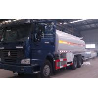 China 15 CBM - 25 CBM Mobile fuel tank truck parameter 6 - speed with over drive on sale