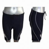 China Men's Cycling Shorts with Flat Lock Stitching on sale
