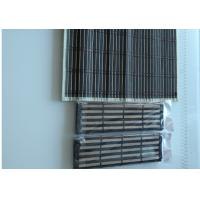 Quality Printed Natural Bamboo Roman Blinds Customized Length Strong But Flexible for sale