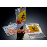 Quality Document wallet, Clinical, Specimen bags, autoclavable bags, sacks, Cytotoxic Waste Bags for sale