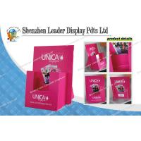 China Custom Cardboard Retail Display For Magazine , Retail Store Display Cases on sale