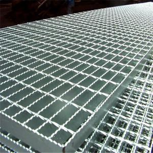 Quality Building Materials Steel Floor Grating Pressure Locked Steel Grating Antirust for sale