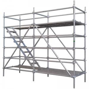 Quality Ring Lock Mobile Steel Scaffolding for Construction Concert for sale