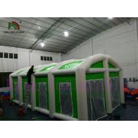 China Green / White Waterproof PVC Giant Inflatable Commercial Tent For Different Events on sale