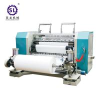 China SLFQ PLC Conrol Automatic Slitting Machine for Paper and Plastic Film on sale