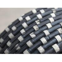 Quality High quality stone diamond wire saw mine rope saw beads for marble concrete and granite cutting for sale