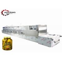 China 2450MHZ PLC Pickles Microwave Sterilization Equipment for sale