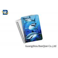 China Decorative 3D Flip Effect Lenticular Notebook For Shark A1 / A2 / A3 Custom Size on sale