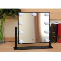 China 360° Moving professional Led Bulb Mirror , high definition led beauty mirror on sale