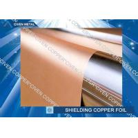 Quality High bendability Rolled Copper Shielding Foil Shielding for CCL , FCCL , PCB for sale