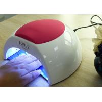 Quality Unique Low Heat Led Gel Nail Lamp , Electric Infrared Gel Nail Machine 365 + 405nm for sale