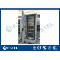 Quality Standard Industrial Outdoor Telecom Cabinet , Outdoor Electrical Cabinet With Rectifier System for sale