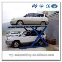 Quality 2 Level Double Car Parking Lift Portable Scissor Lift Car for sale