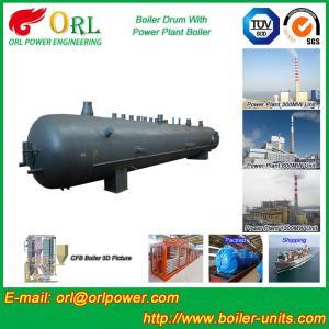 Solid Fuel Boiler Mud Drum 50 Ton Stainless Steel Pharmaceutical Industry