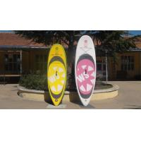 Quality Big Width Inflatable Paddle Board For Kids , 8 Feet Long 4 Inch Thickness SUP Paddle Boards for sale