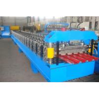Quality 1250mm Feeding Width Galvanized Steel Corrugated Sheet Making Machine High Speed for sale