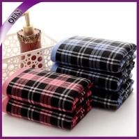 Quality china factory wholesale 100% cotton one side terry one side gauze hand towel for sale
