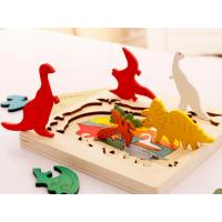 China 3D Wooden Animal Jigsaw Puzzle on sale