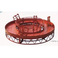 Quality Rounded Lifting Suspended Platform Cradle with 1500kg Capacity for sale