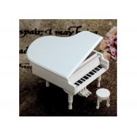 Quality Home Decoration Wooden Crafted Gifts Piano / Wooden Music Box For Birthday Gift for sale
