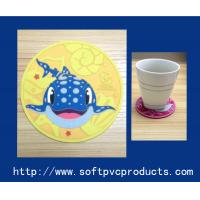 Quality Eco-friendly Reusable Custom Drink Coasters wholesale Cartoon Funny Beverage Coasters for sale