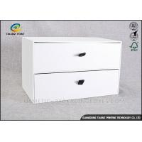 Quality Customizing Cardboard Display Boxes , Cardboard Pop Displays With Big Drawer for sale