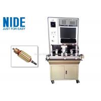Quality Automatic Vacuum Cleaner Motor Test Equipment / Armature Testing Machine for sale