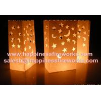 China celebration decorative paper candle bags on sale