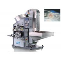 Quality Automatic Rounder Aluminum Lid Hot Foil Stamping Machine One Color Top Surface for sale