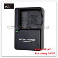 Quality Battery charger DE-A12 for Panasonic camera battery S005E for sale