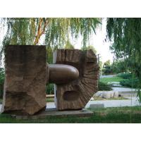 Quality Red Granite sculpture in park for sale