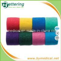 Quality 5cm Easy tearing Non Woven cohesive bandage self adhesive bandage for sale