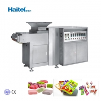 Quality Bubble Ball Gum Toffee Soft Candy Extruder Machine 300kgs/h for sale
