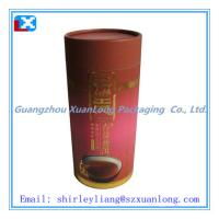 China Customized Paper Tube For Tea Packing on sale