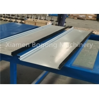 Buy cheap Portable Standing Seam Roofing Roll Forming Machine, Portable Standing Seam from wholesalers