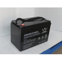 Quality Rechargeable 12v 100ah Deep Cycle Solar Lead Acid Battery Agm Vrla Battery for sale