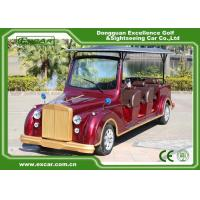 Quality EXCAR Electric Classic Cars For 8 seater With Intelligent Onboard Charger for sale