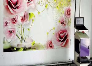 Quality 3D 5D Vertical Wall Inkjet Printer CMYK 600w With Wheel for sale