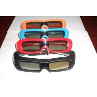 Comfortable Universal Active Shutter 3D TV Glasses USB Chargeable Battery