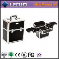 China LT-MC323 nail storage display case metal case for makeup for nail art on sale