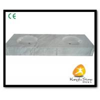 Best Xiamen Kungfu Stone Ltd supply White Marble Bathroom Countertops In High quality wholesale
