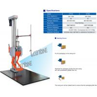 China 85kg Payload Packaging Drop Test Machine With Base Plate 100x150cm Drop Height 150cm for sale