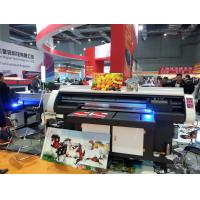 Buy cheap 120*80cm Small and High-Performance UV Flatbed Printer for any Rigid Flat Mateterial like Glass,Ceramics,PVC Board from wholesalers