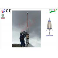 Quality Durable Stainless Steel Air Terminal Lightning Rod Complies With NF C 17-102 for sale