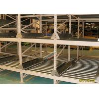 Best High Density Light Grey Flow Rack Shelving , Industrial Pallet Racks Heavy Duty wholesale